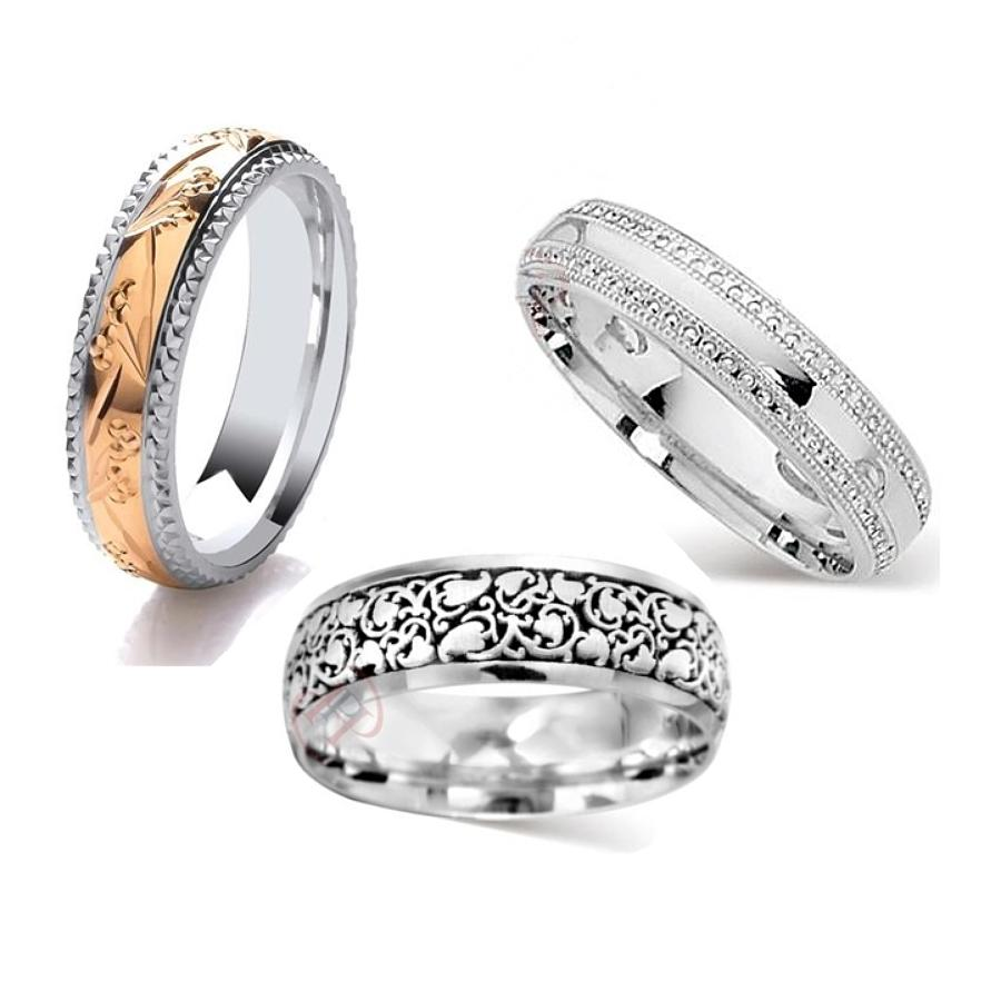 Patterned Rings