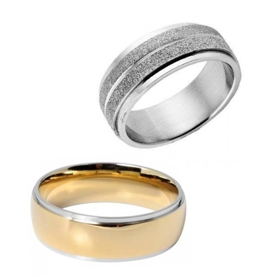 Gents Stainless Steel Wedding Rings