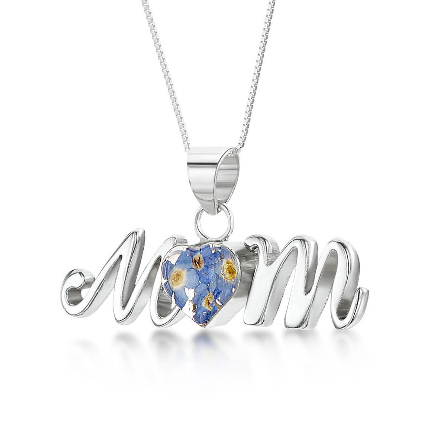 Forget-Me-Not Mum Pendant