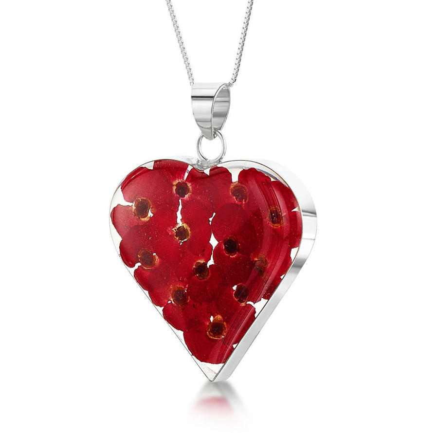 Poppy Large Heart Pendant