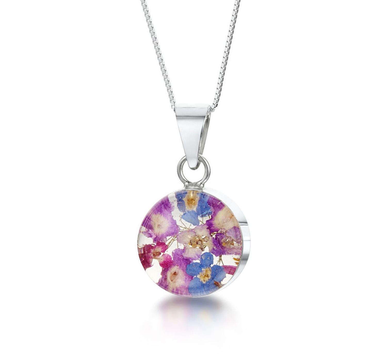 Purple Haze Small Round Pendant