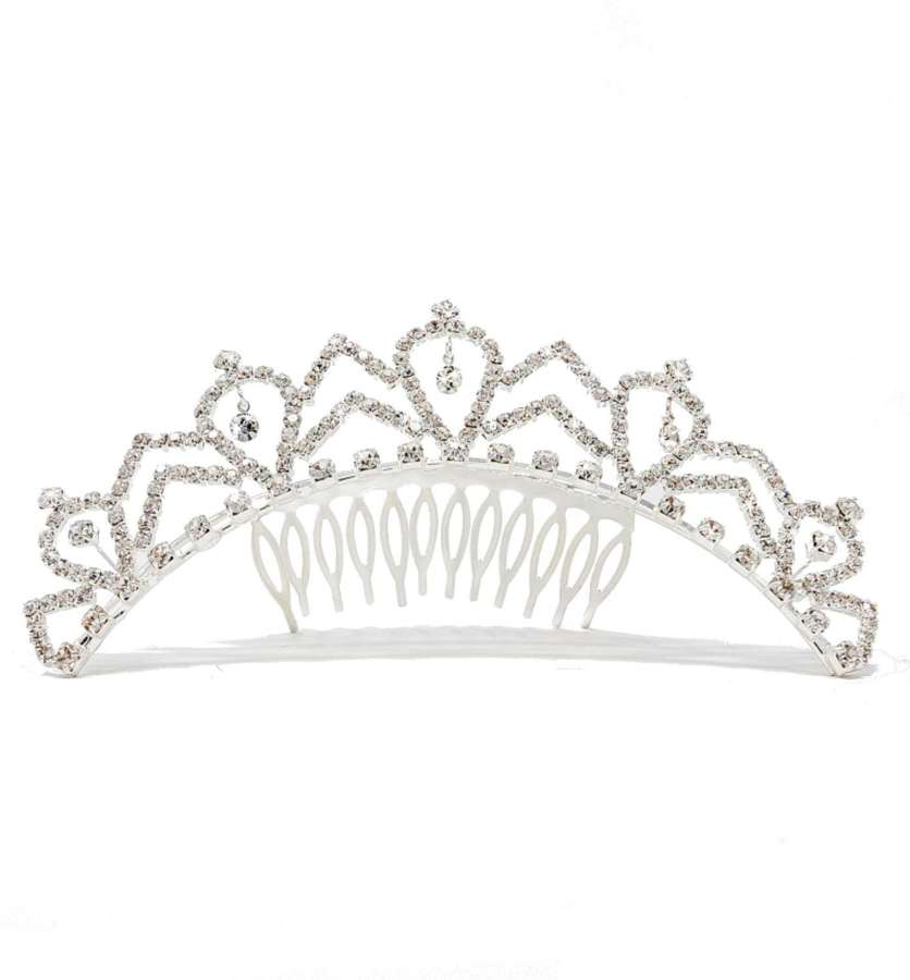Crystal Multi Drop Tiara