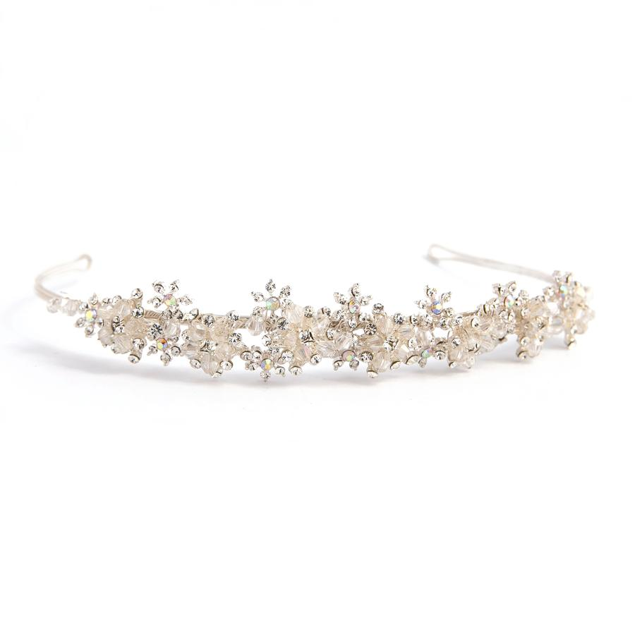 Crystal Multi Flower Hairband