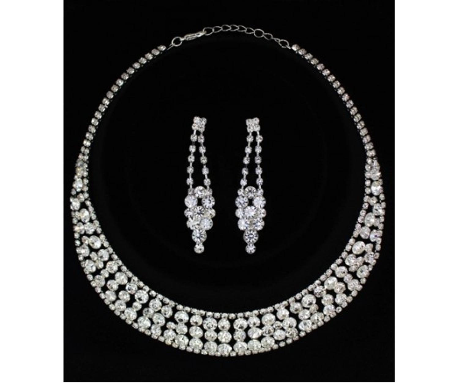 Diamante Collarette Necklace