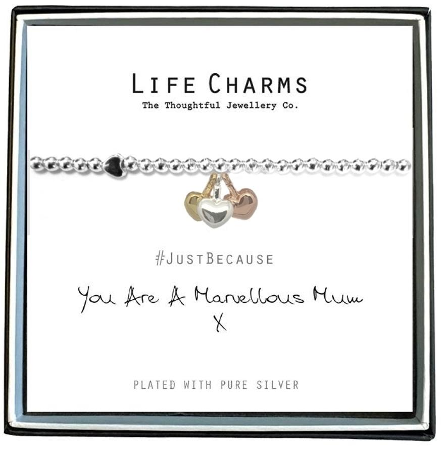You Are A Marvellous Mum Bracelet