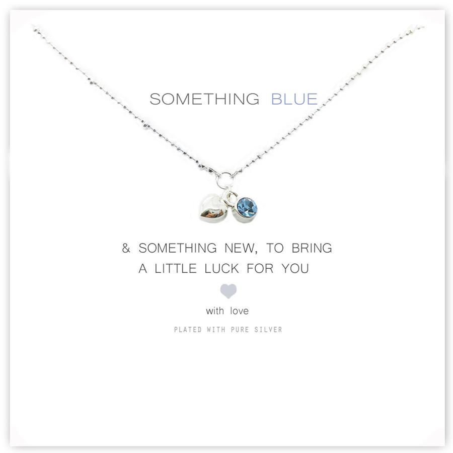 Something Blue Crystal Necklace