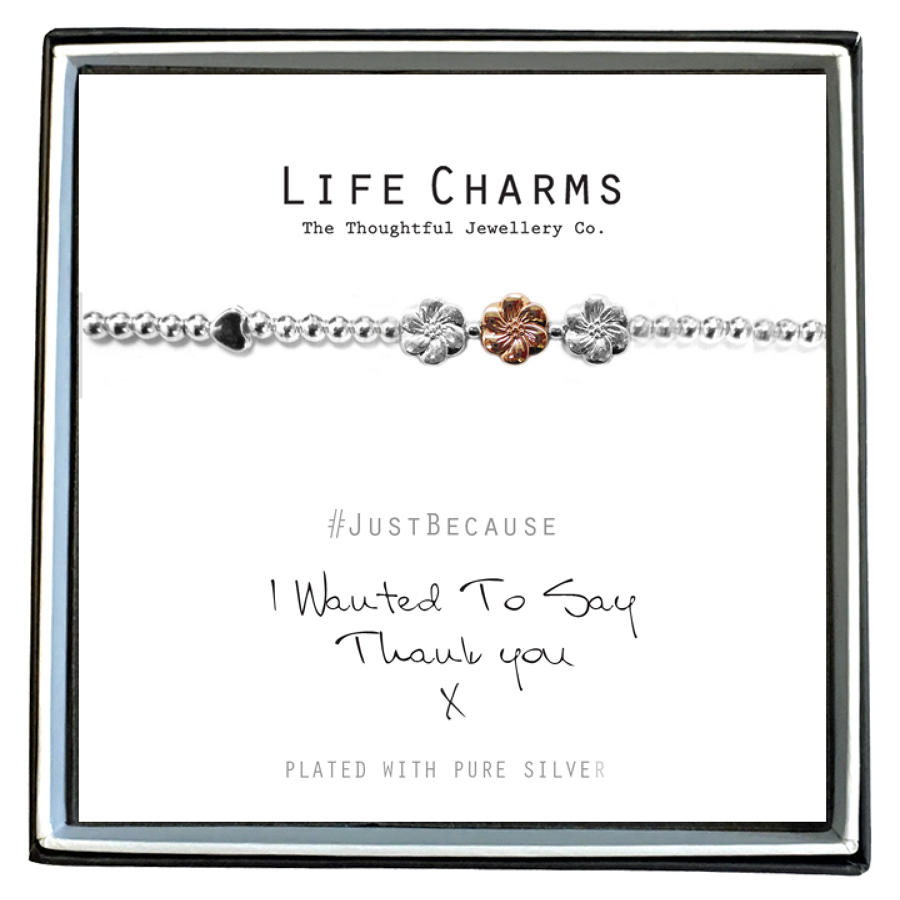 I Wanted To Say Thank You Bracelet