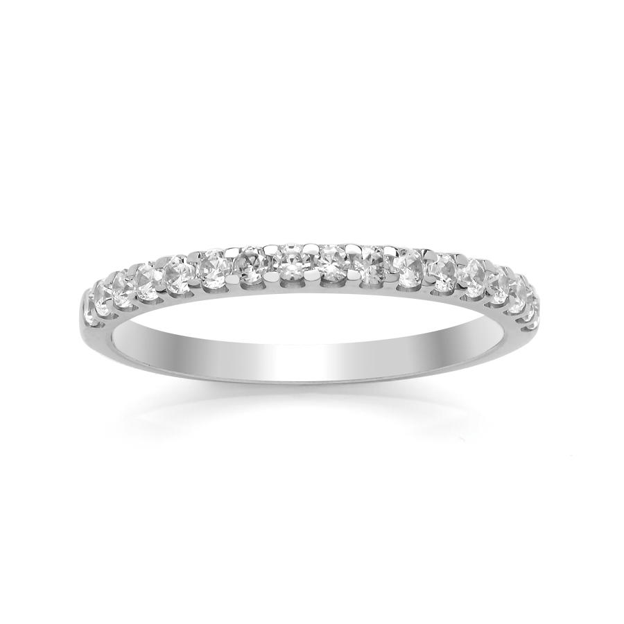 1.9mm Single Rolled Claw Set Diamond Ring
