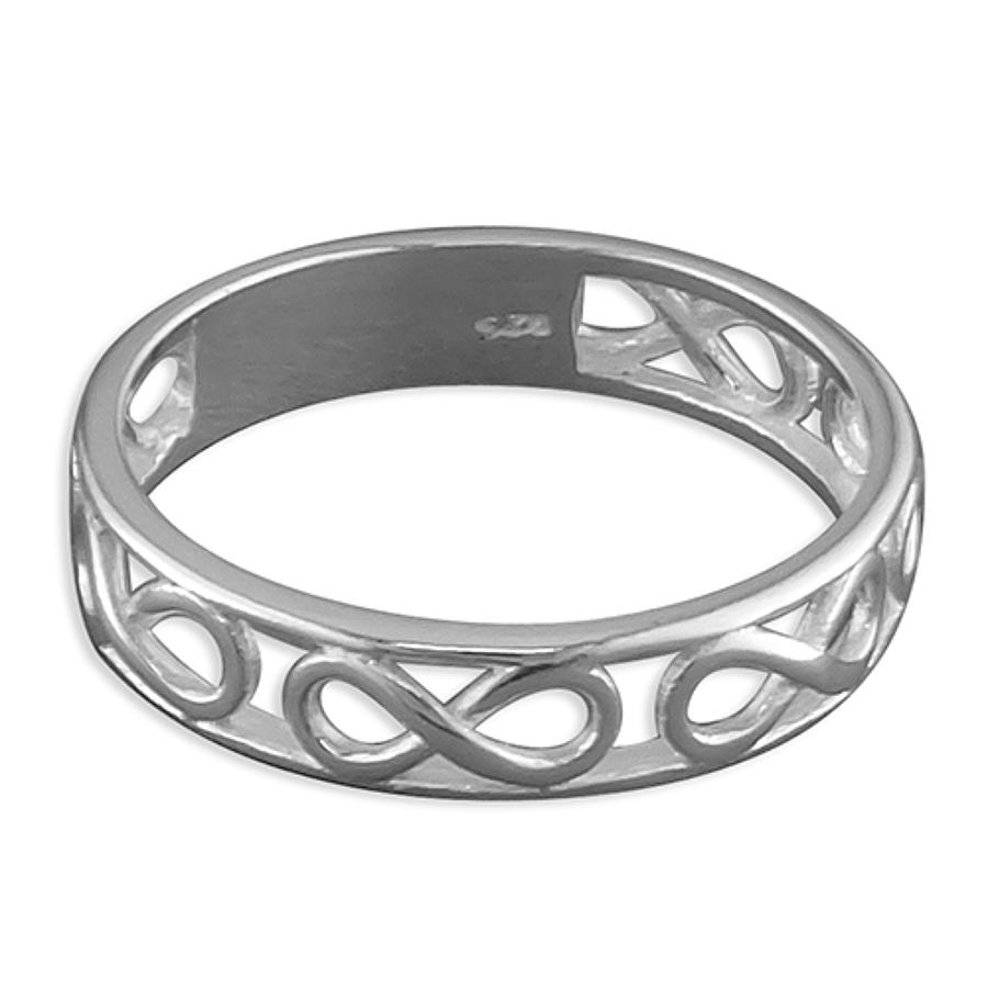 Sterling Silver Infinity Band Ring