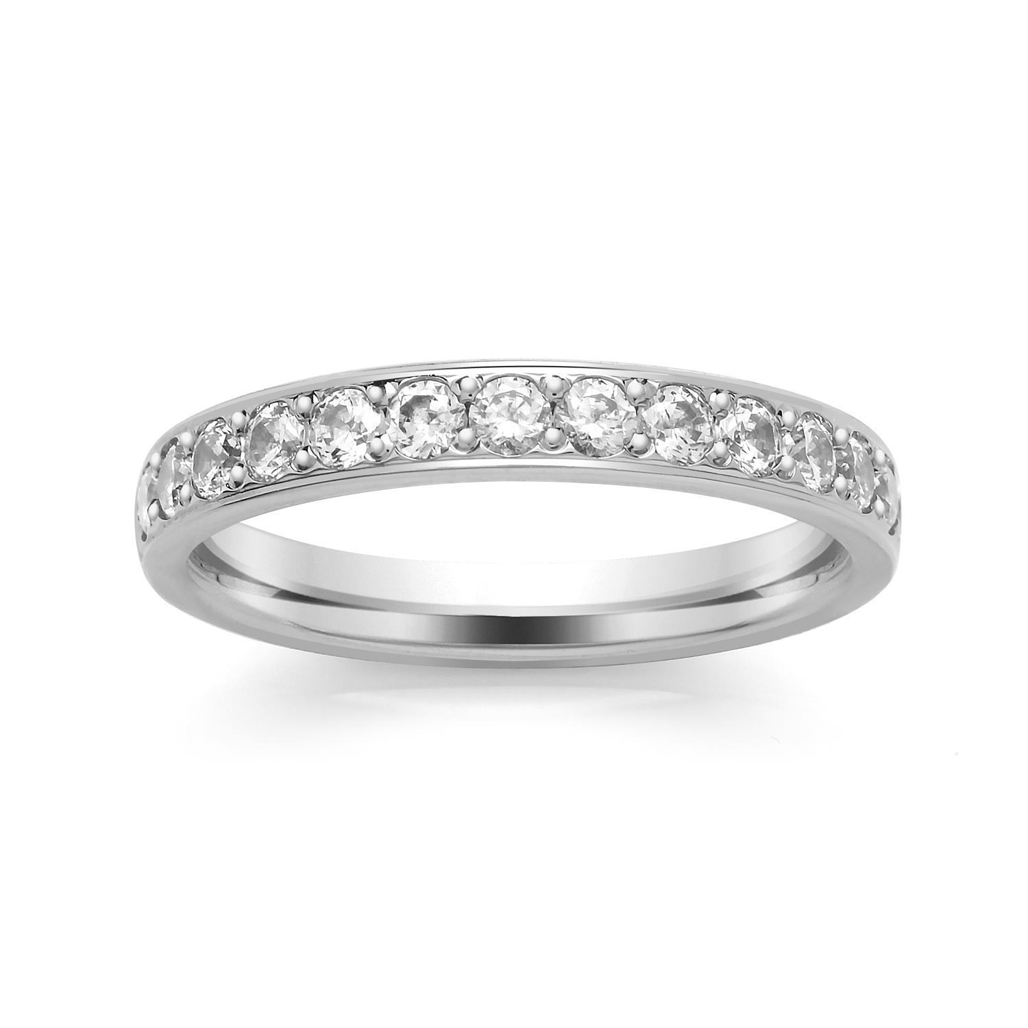 3.1mm Grain Set Diamond Ring