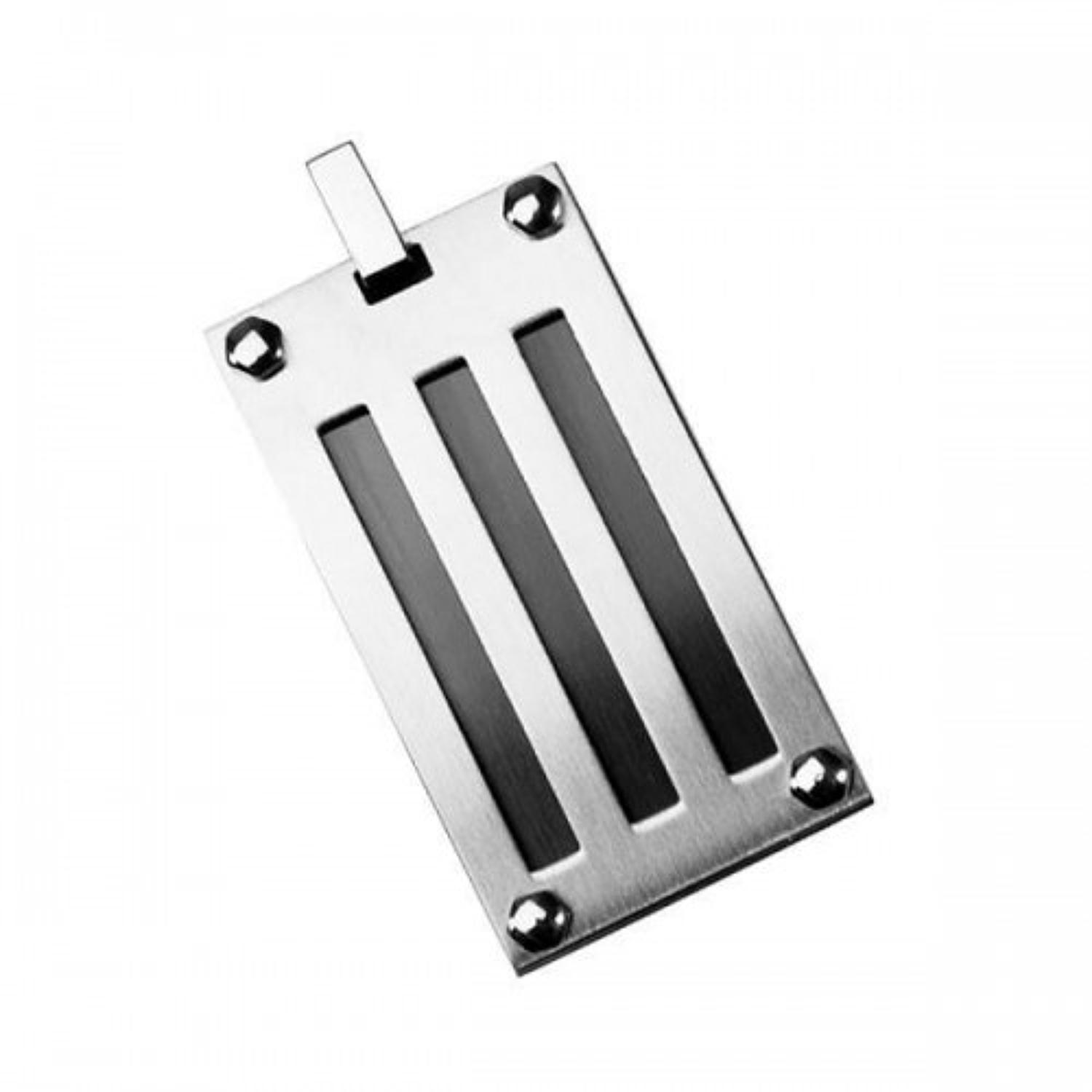 Stainless Steel Rectangular Pendant