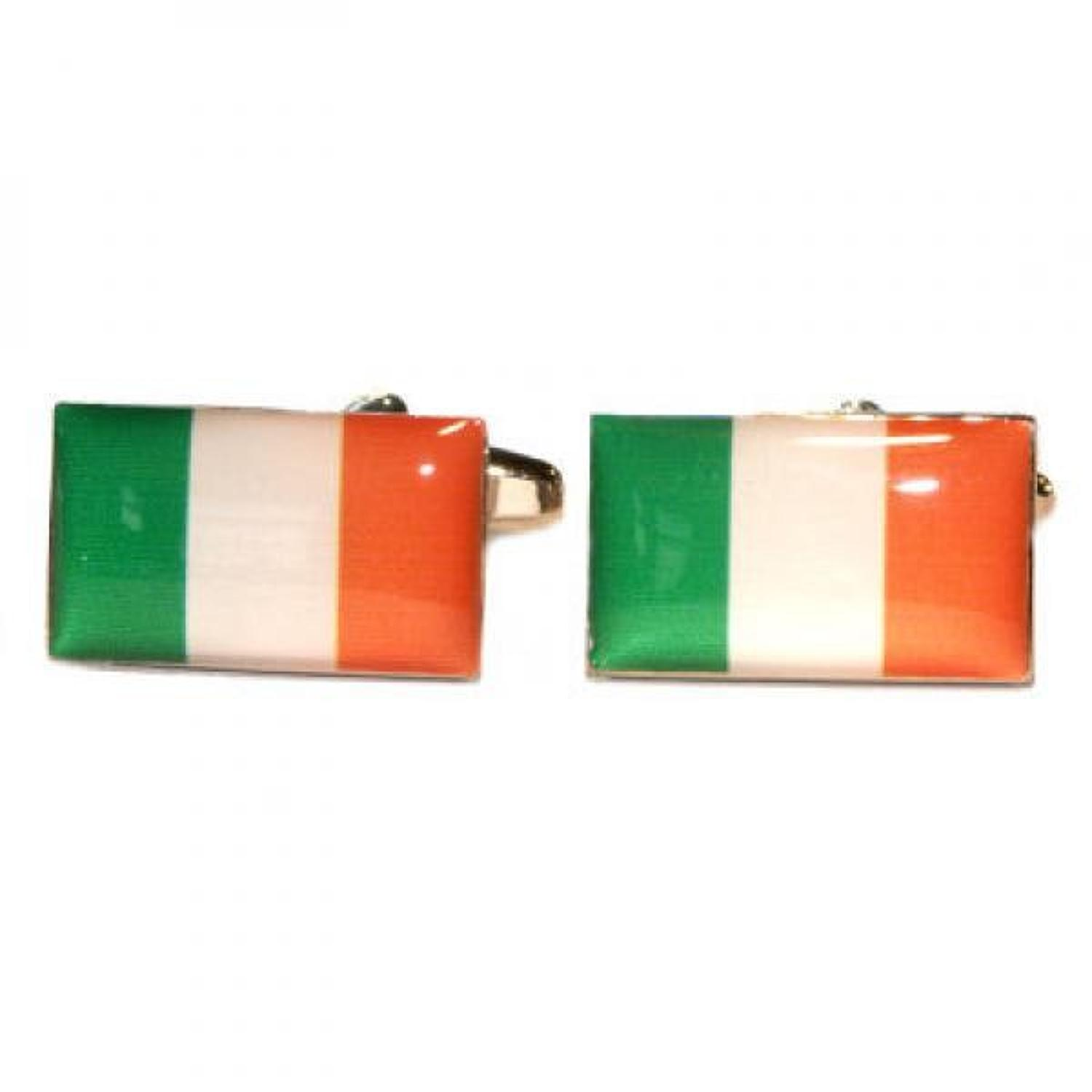 Ireland Flag Cufflinks