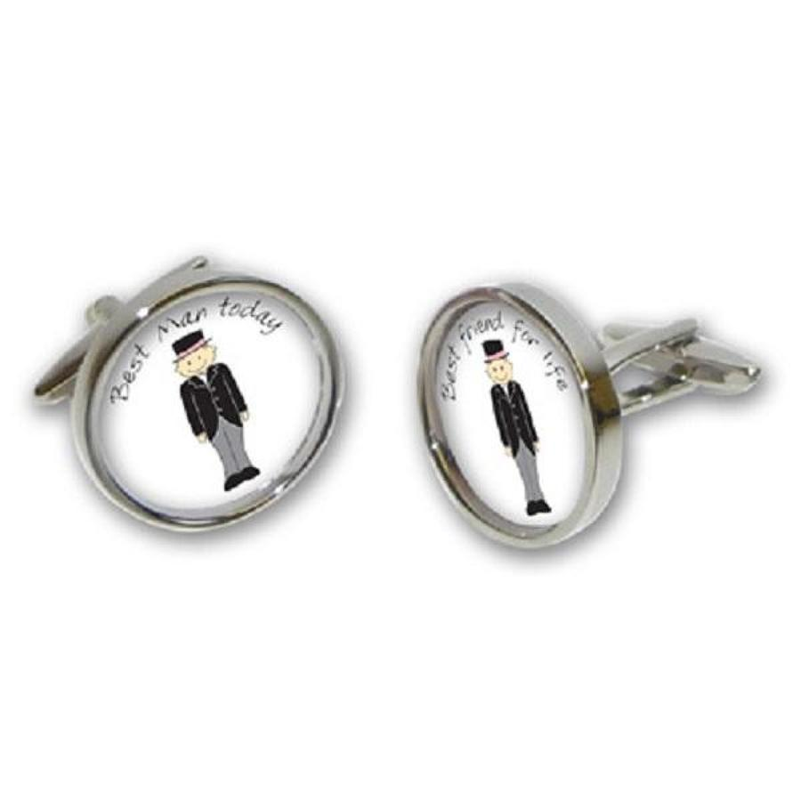 Best Man/Best Friend Cufflinks