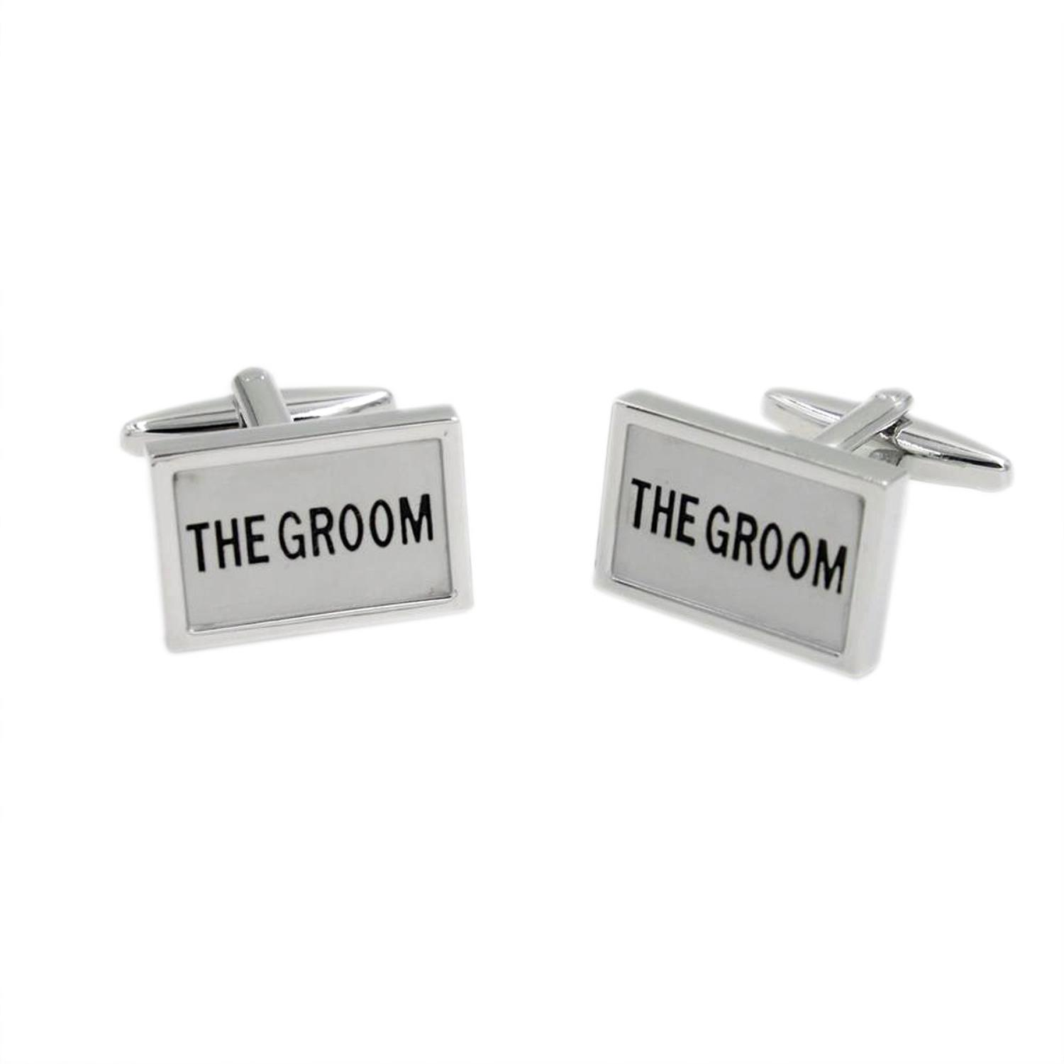 Wedding Role Cufflinks