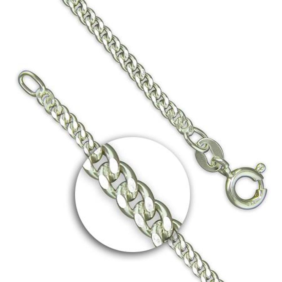 Diamond Cut Curb Chain