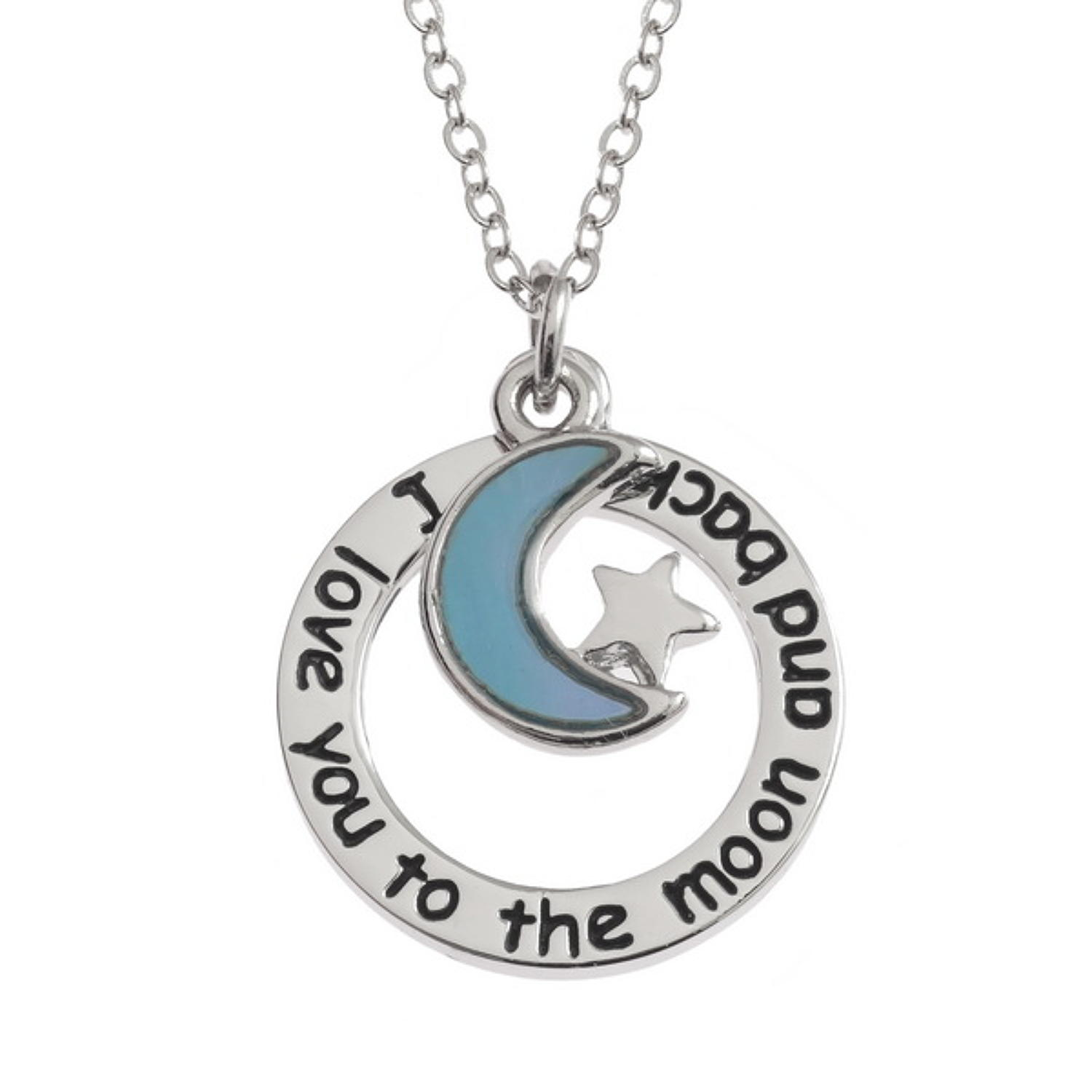 'I Love You To The Moon And Back' Pendant