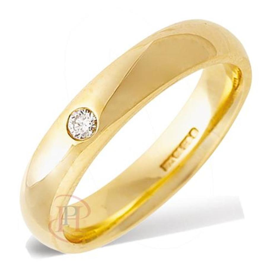 4mm Heavy Court Ring