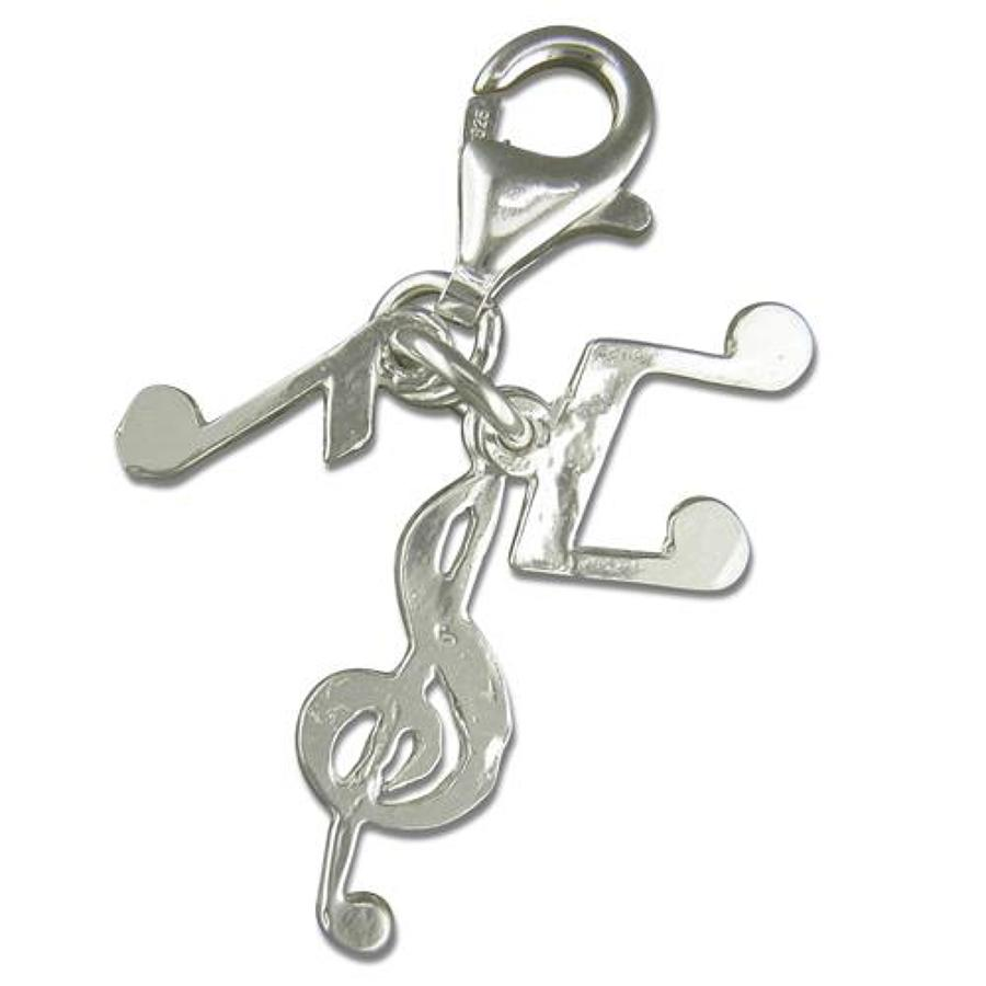 Sterling Silver Musical Note Charm
