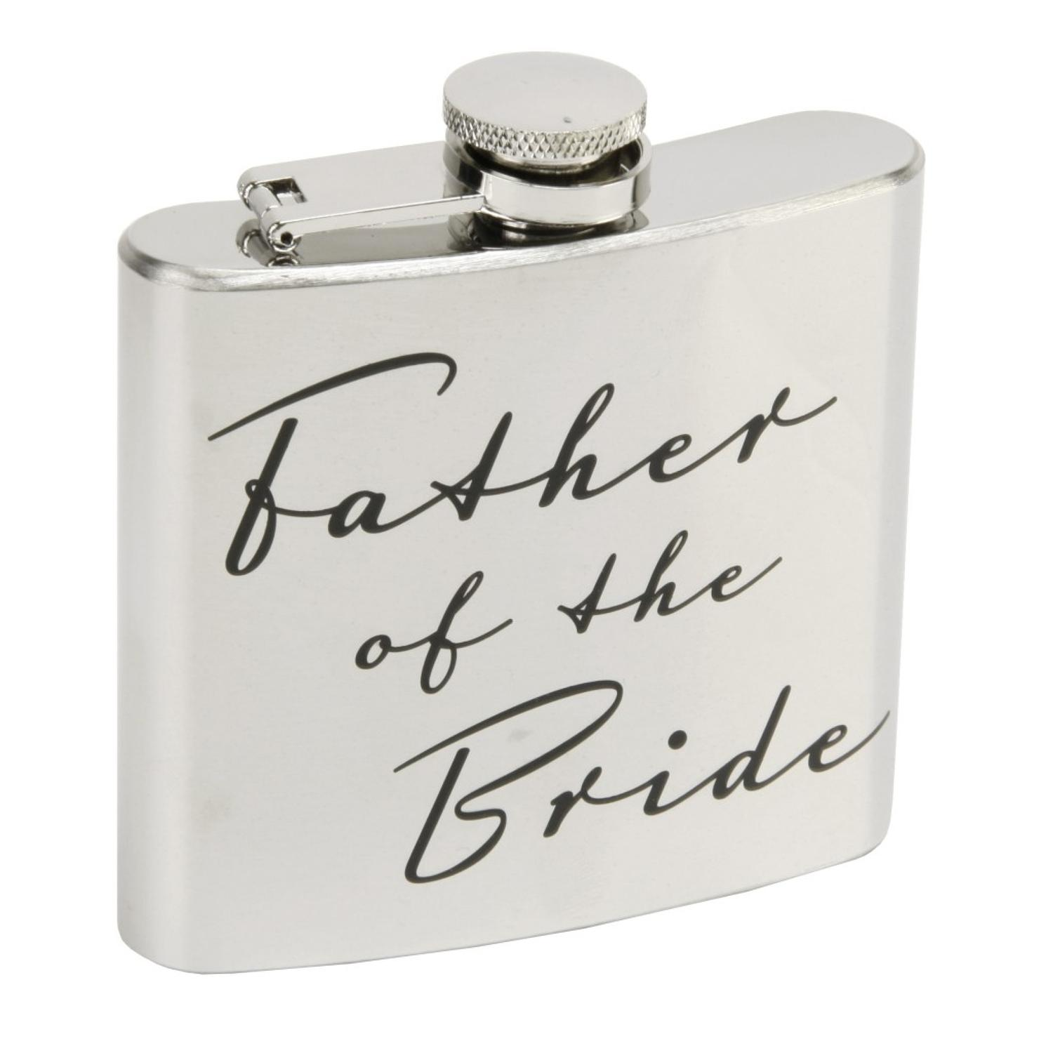 Father Of The Bride 5oz Hip Flask