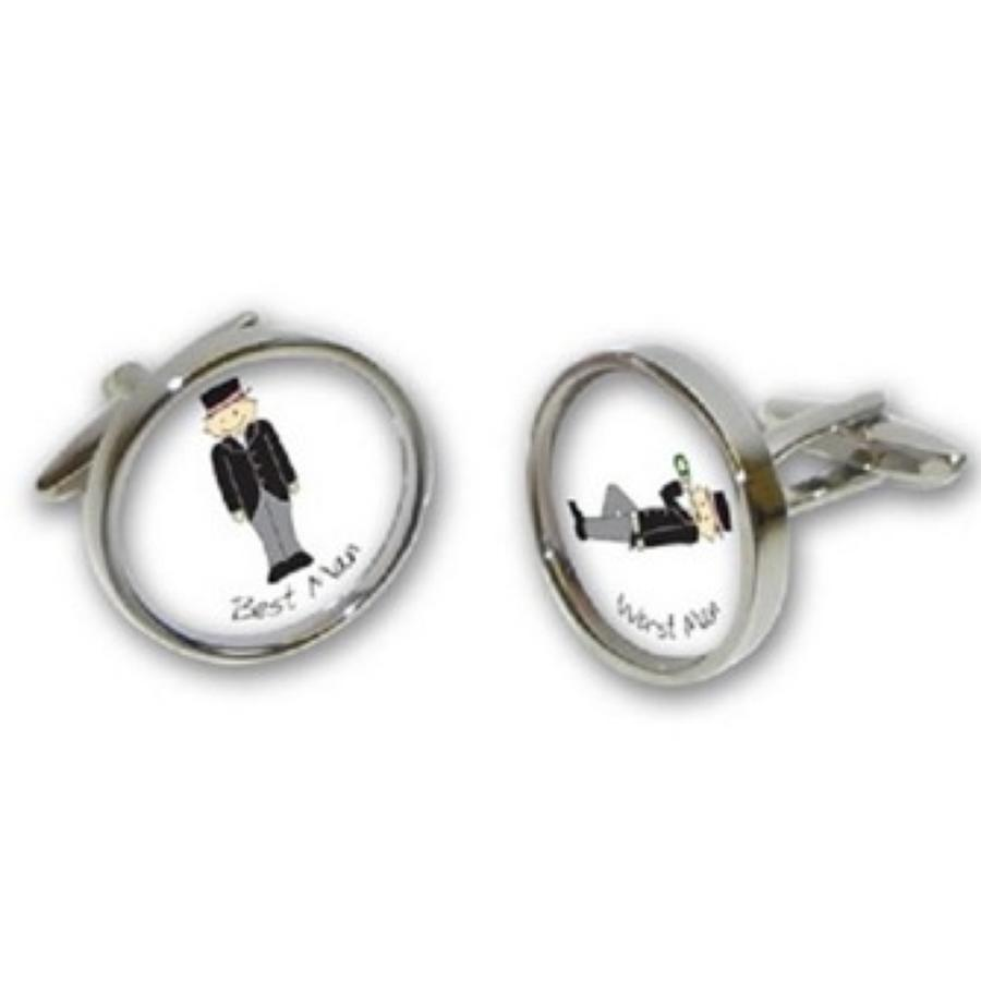 Best Man, Worse Man Cufflinks