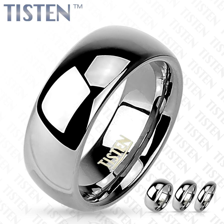 Glossy Mirror Polished Tisten Ring