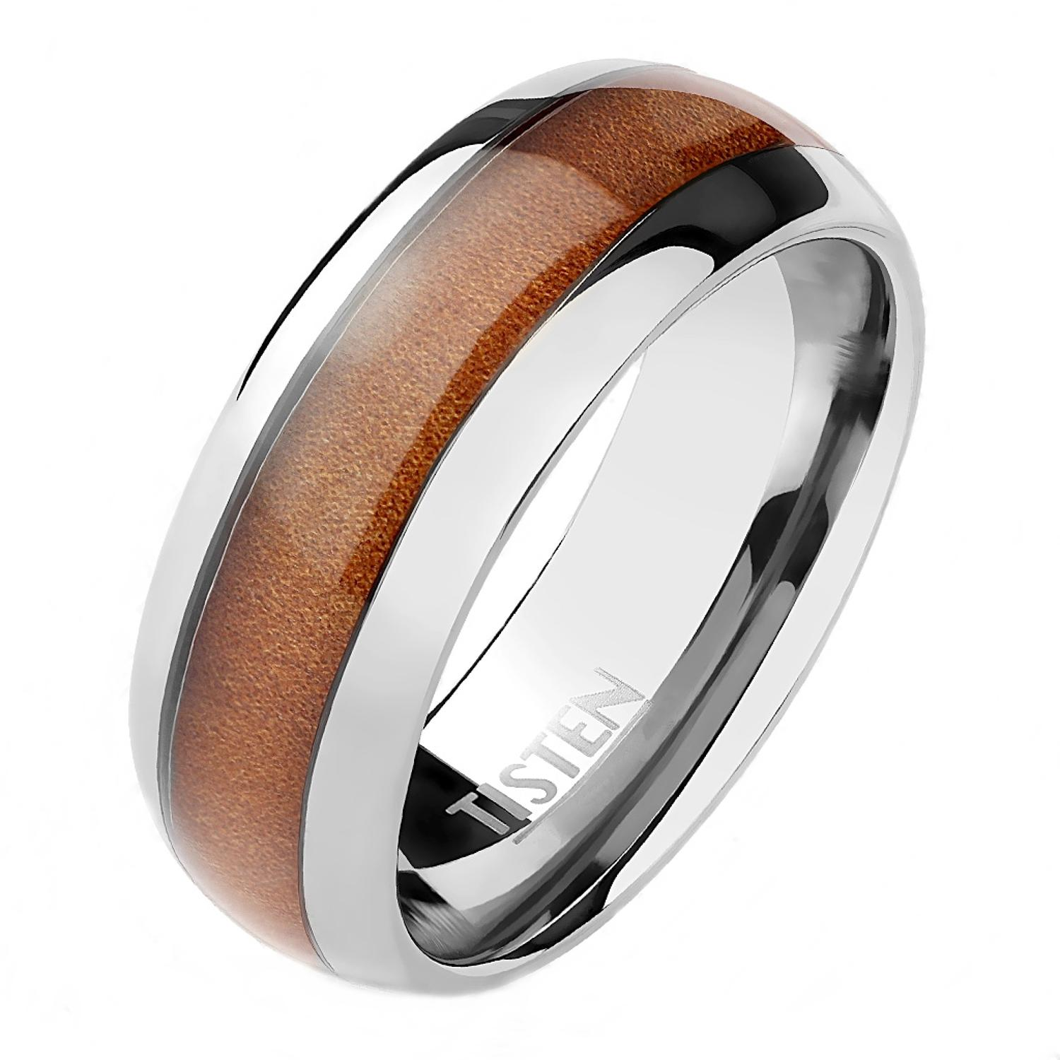 Wood Inlay Center Tisten Ring