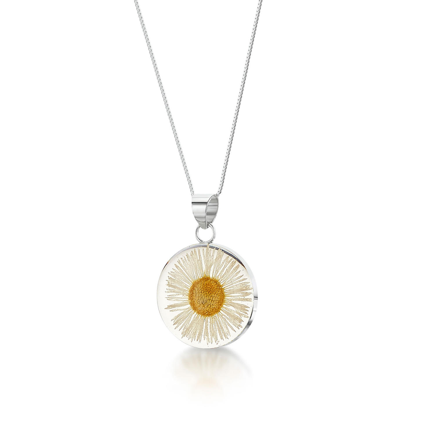 Daisy Medium Round Pendant