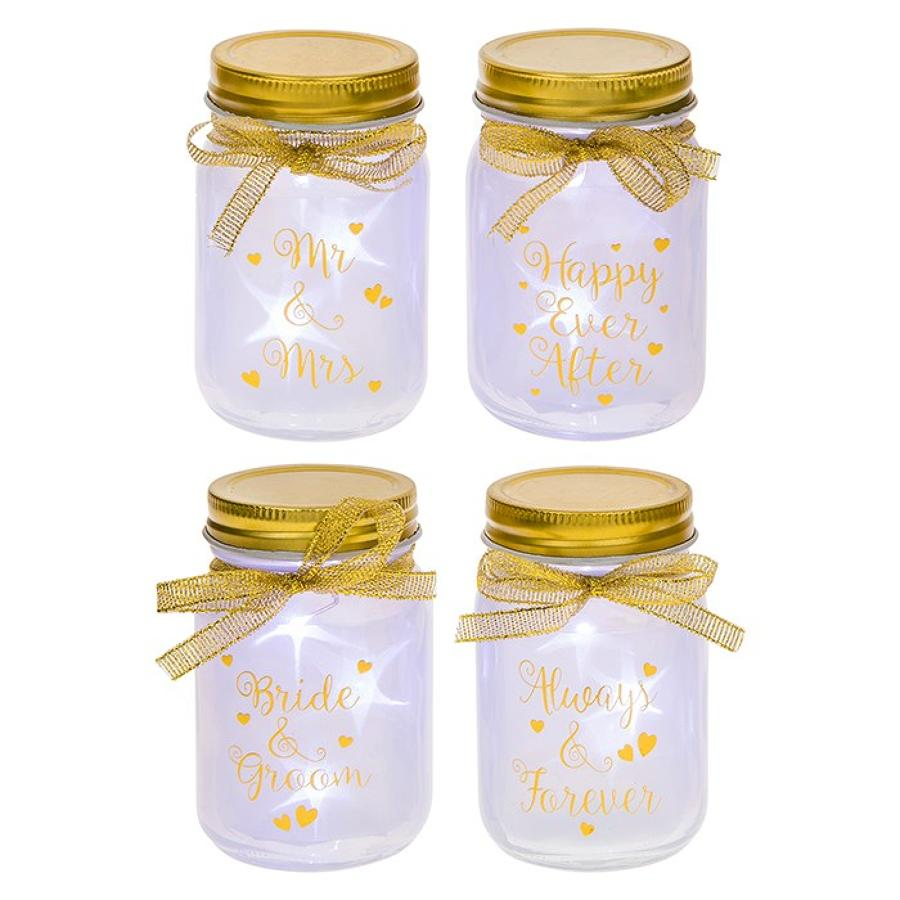 Mini Firefly Led Wedding Jars