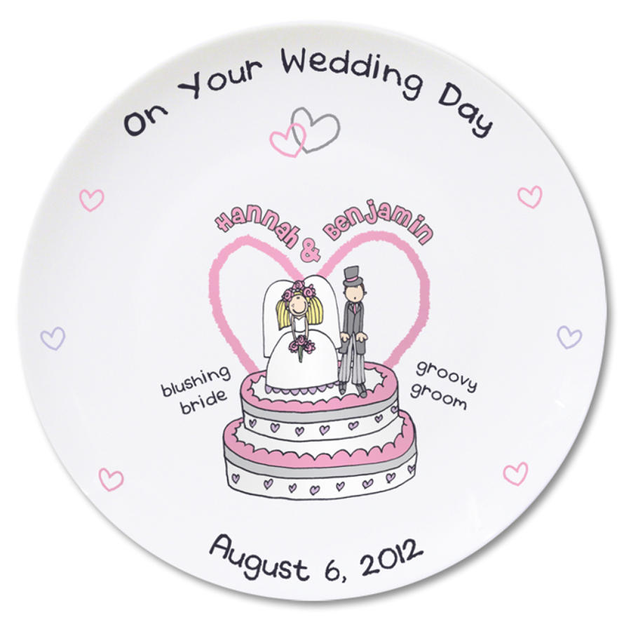 Personalised Wedding Plate