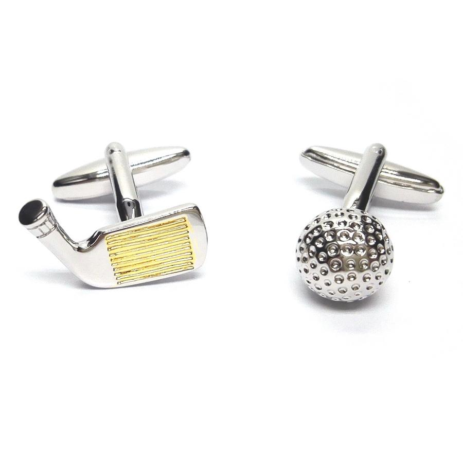 Golf Driver & Ball Cufflinks