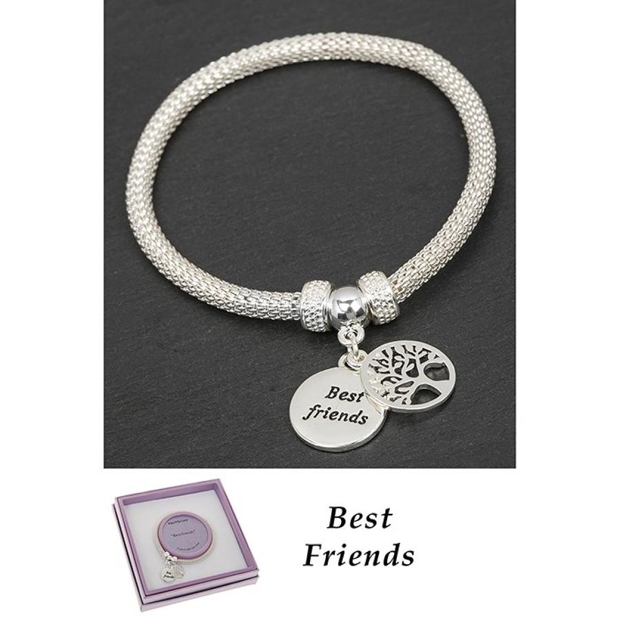 Best Friends Tree Of Life Bracelet