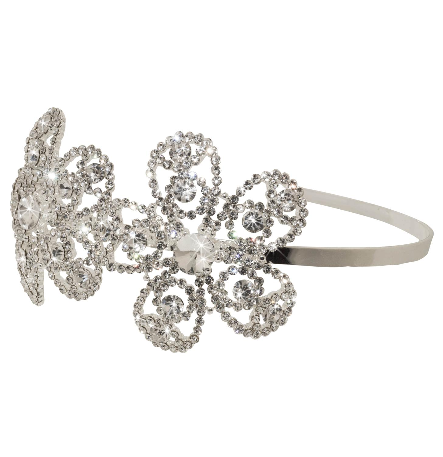 Daisy Side Head Band