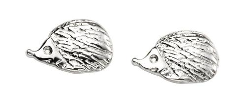 Sterling Silver Hedgehog Stud Earrings