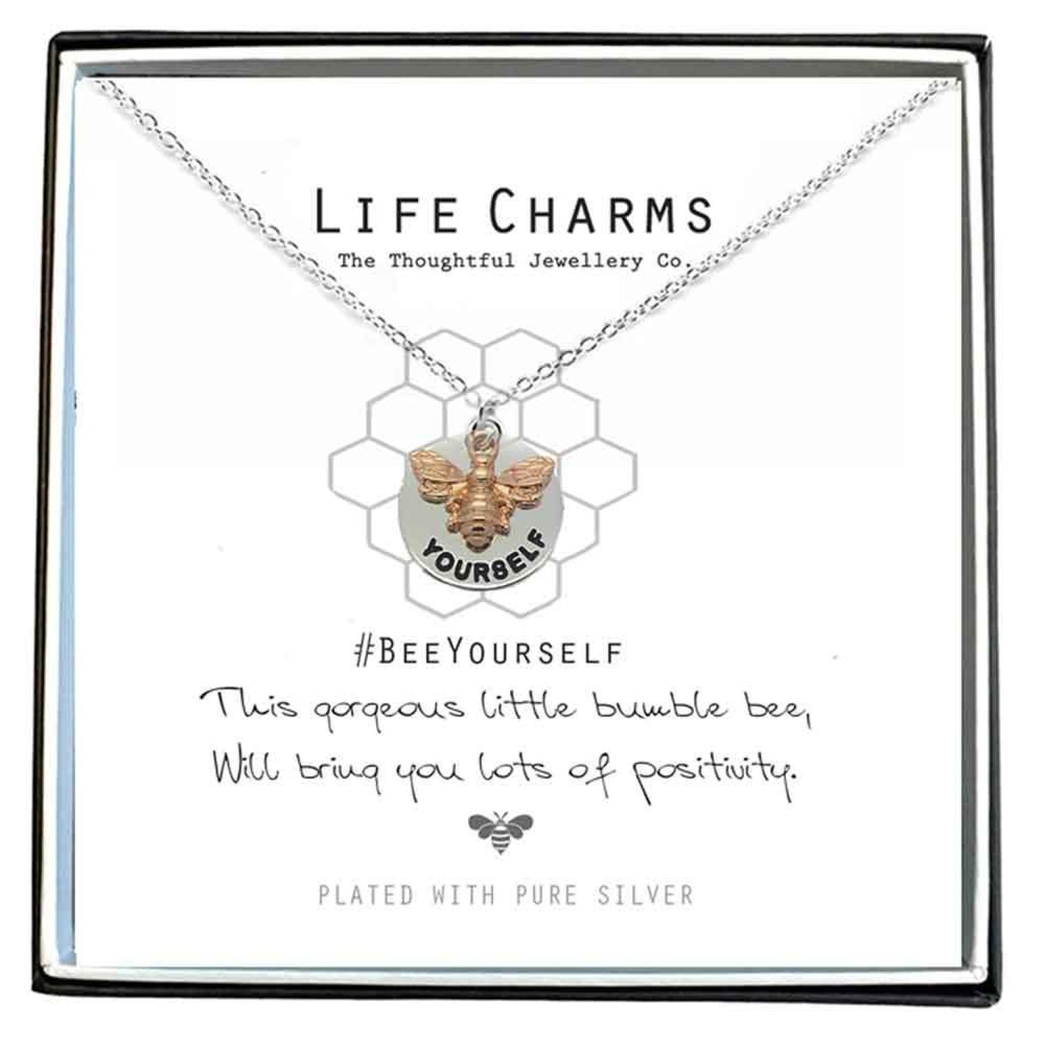 Bee Yourself Necklace