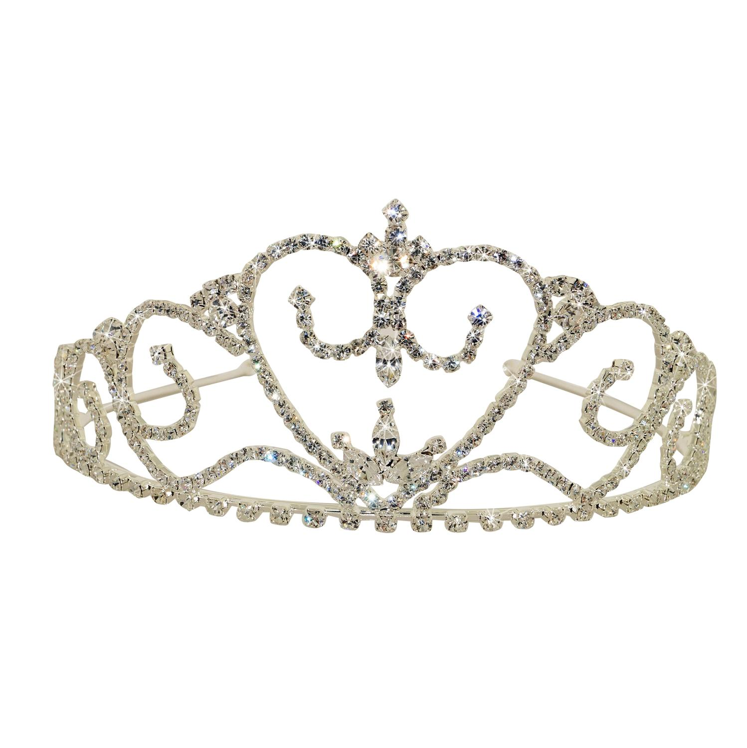 Graceful Diamante Tiara