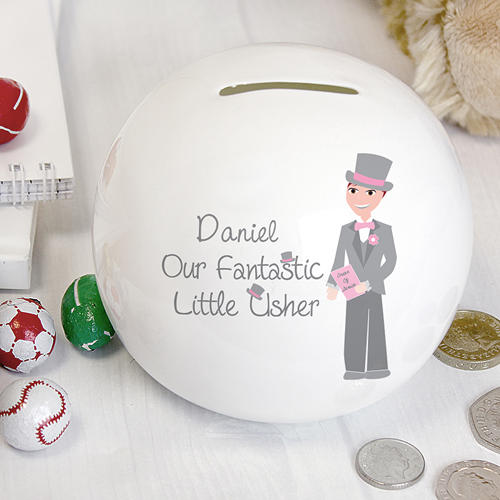 Personalised Fabulous Little Usher Money Box