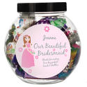 Personalised Fabulous Bridesmaid Sweet Jar - picture 1