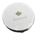 Bridesmaid Round Compact Mirror - picture 1