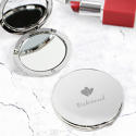 Bridesmaid Round Compact Mirror - picture 2