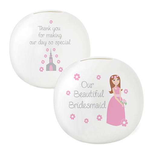 Our Beautiful Bridesmaid Money Box