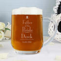 Personalised Decorative Wedding Father of the Bride Tankard - picture 2