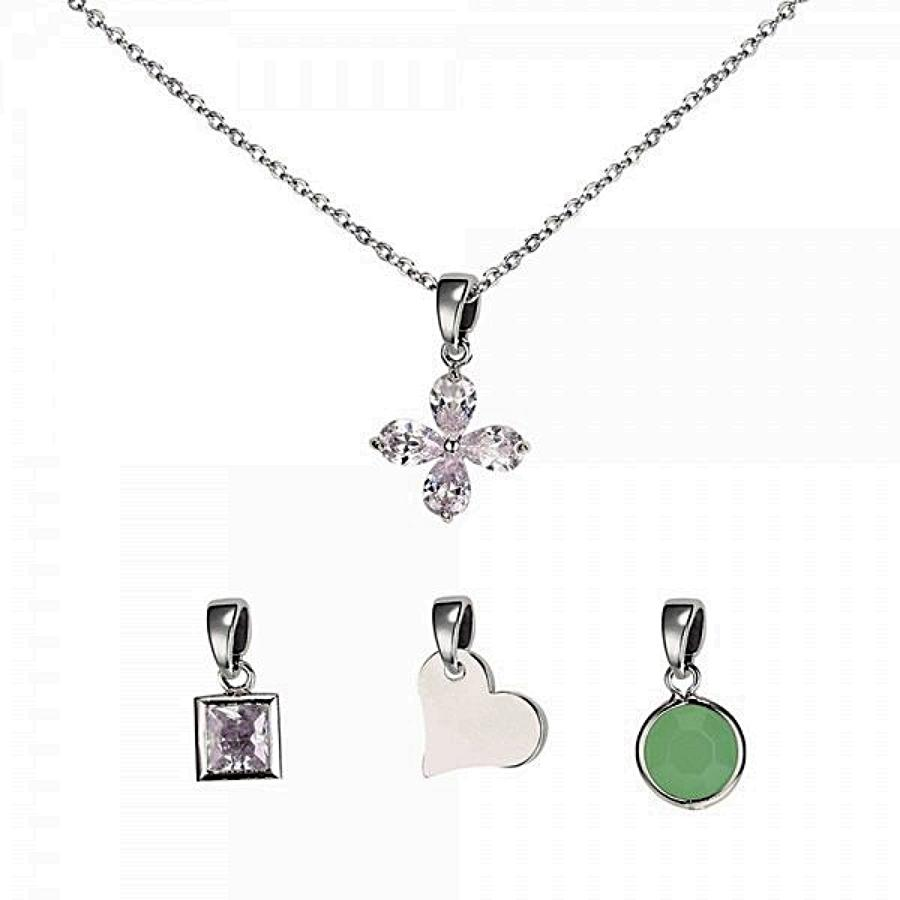 Interchangeable Charm Pendant
