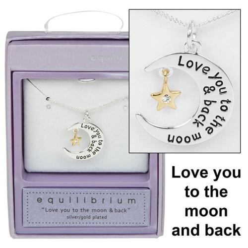 Love You To The Moon & Back Necklace
