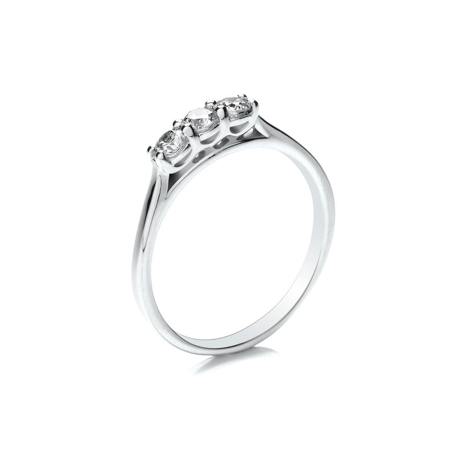 0.33ct Trilogy Ring