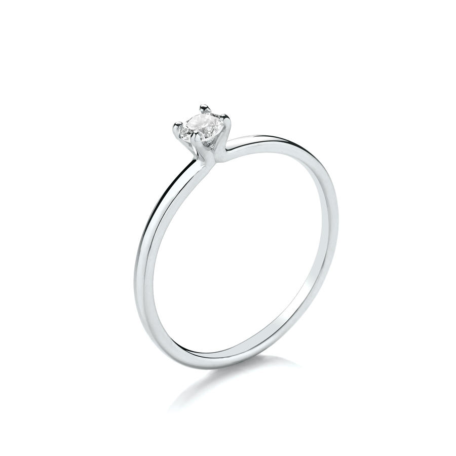 0.15ct Solitaire Diamond Ring
