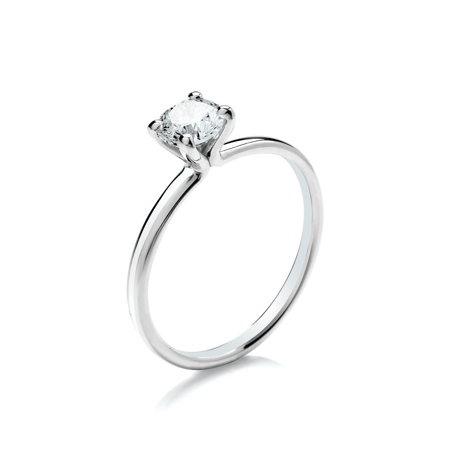 0.50ct Solitaire Diamond Ring