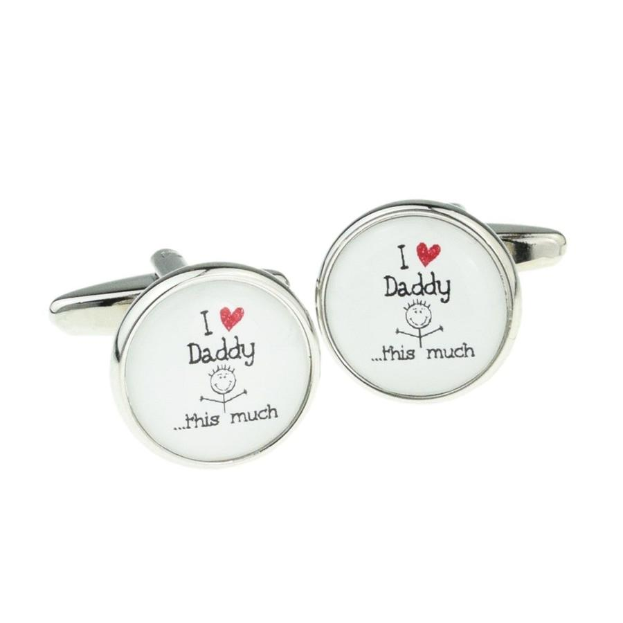 I Love Daddy This Much Cufflinks