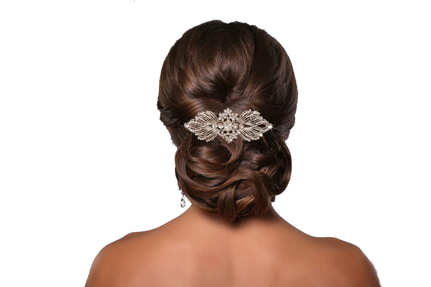 Crystal Vintage Style Hair Comb