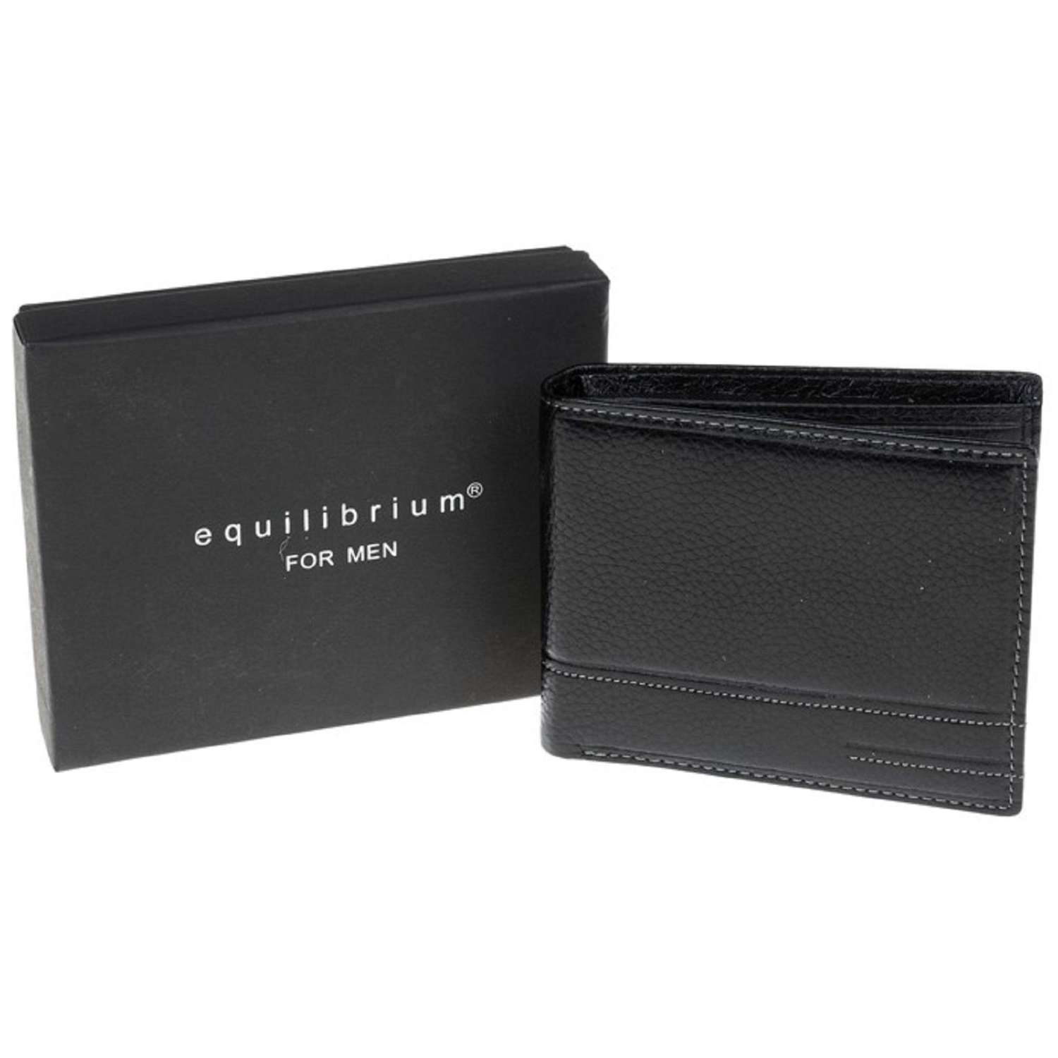 Black Genuine Leather Wallet