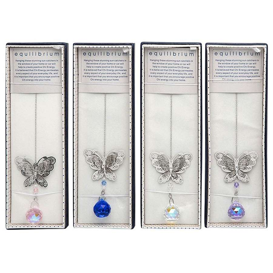 Butterfly Crystal Sun Catcher